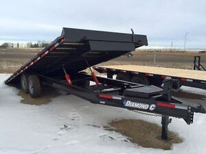2016 Diamond C 13DEC-Tilt Equipment Hauler Trailer Edmonton Edmonton Area image 2