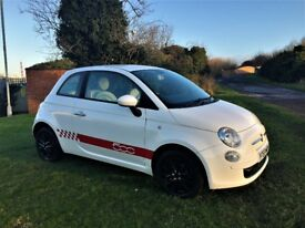 FIAT 500 1.2 Pop, Stunning Low Mileage Automatic (white) 2009
