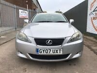LEXUS IS 220 2.2 175 DIESEL SALOON 2007