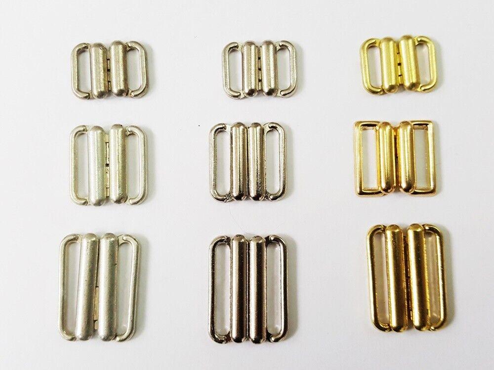 BH Verschluss Bikini Verschluss aus Metall - verschiedene Größen
