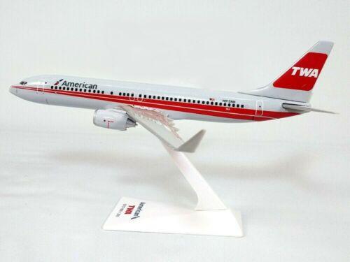AMERICAN AIRLINES -  TWA BOEING 737-800   DESK MODEL