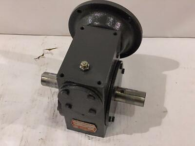 Hub City Speed Reducer 0220-21606-265 Ratio 301 Dual Shaft  Mt 56c