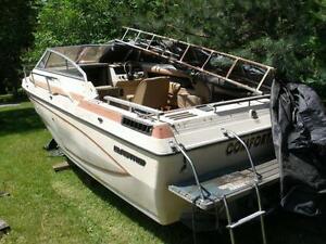 25ft inboard power boat