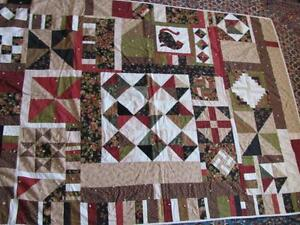 Hand made patchwork quilt---now reduced!!!