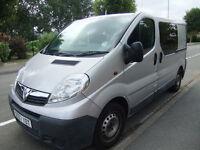 Vauxhall Vivaro Campervan 2008 Diesel 100,000 miles NEW INJECTORS (like VW T4 T5 Trafic)