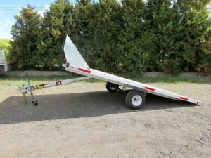 12' Snowmobile Trailer - Made in Canada
