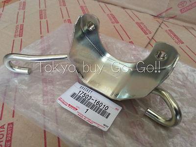 Toyota AE86 Trueno Levin Zenki Kouki  Exhaust Pipe Bracket NEW Genuine OEM Parts