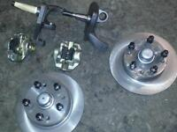 Volkswagon Drop Spindles and Brakes