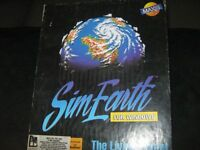 Vintage SimEarth-The Living Planet (PC 1991) -Complete!