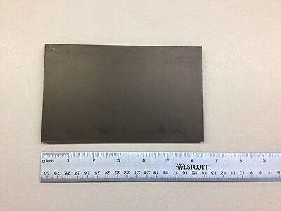 Black Abs Machinable Plastic Sheet 516 X 4 X 6.5 Matt Finish