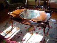 Tables de salon antiques PRIX REDUIT A $ 500.00