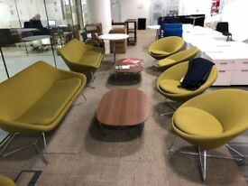 Set Of Conic By Allermuir Open Seating - Price Includes VAT