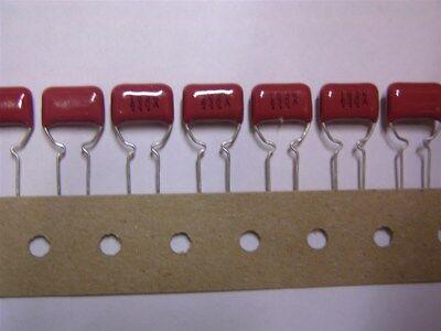 25 Panasonic Ecqe6153kf9 .015uf 630v 10 Radial Metallized Polyester Capacitors