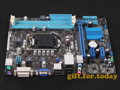 Original ASUS H61M-K Intel H61(B3) Motherboard Socket 1155 DDR3 for sale  Shipping to Canada