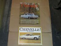 1964 Chevelle Dealer Brochure.