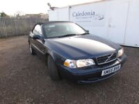 VOLVO C70 2.0 T Convertible Full Leather (blue) 2005