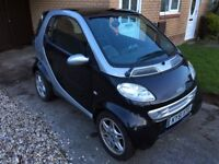 SMART PASSION SOFTOUCH 0.6 petrol city-coupe SPARES OR REPAIR