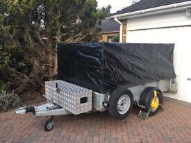 Ifor Williams single axle trailer
