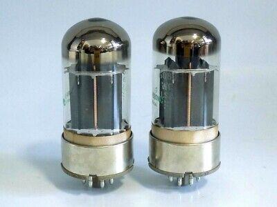 New Old Stock Pair GE JAN 6080WC Ham Radio Amplifier Tube NIB