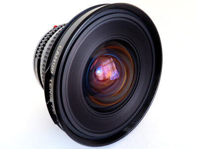 Canon FD 17mm f4 - 1988 - MINTY!