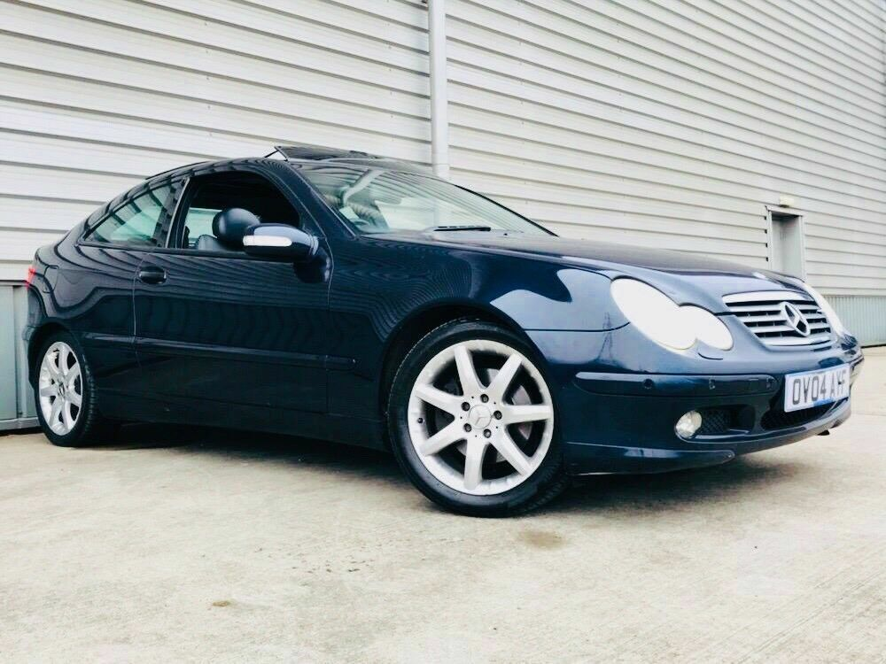 2004 Mercedes Benz C Class 1 8 C230 Kompressor Se Coupe 2dr Petrol Automatic Leather Panoramic Roof In Birmingham West Midlands Gumtree