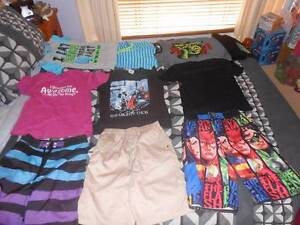 Boy's size 14 Summer clothes,shorts, t-shirts,pj's Justice League Greenbank Logan Area Preview