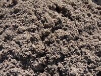 Washed sharp sand