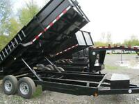 QUALITY STEEL DUMP TRAILERS,  OVER 100 TRAILERS IN STOCK!!!!!!!