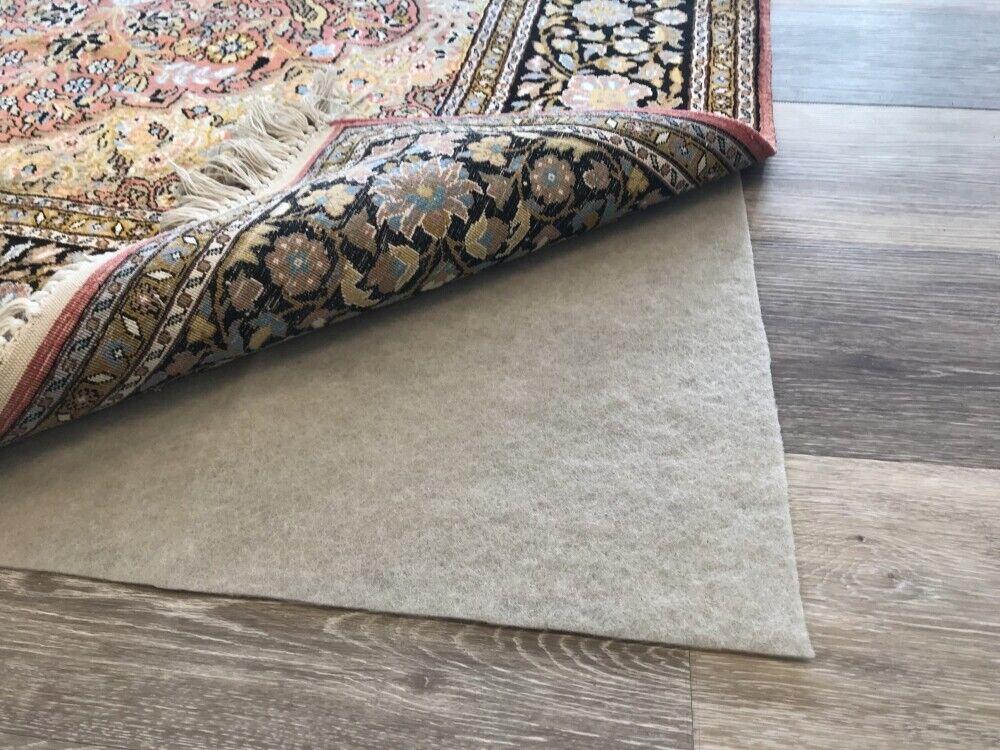 Antirutschmatte Teppichunterlage Teppich Stopper Teppichunterleger in Braun