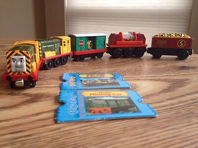 Thomas Sodor Mining Co./Sodor Iron Works 5 Pc. Train Set/Cards