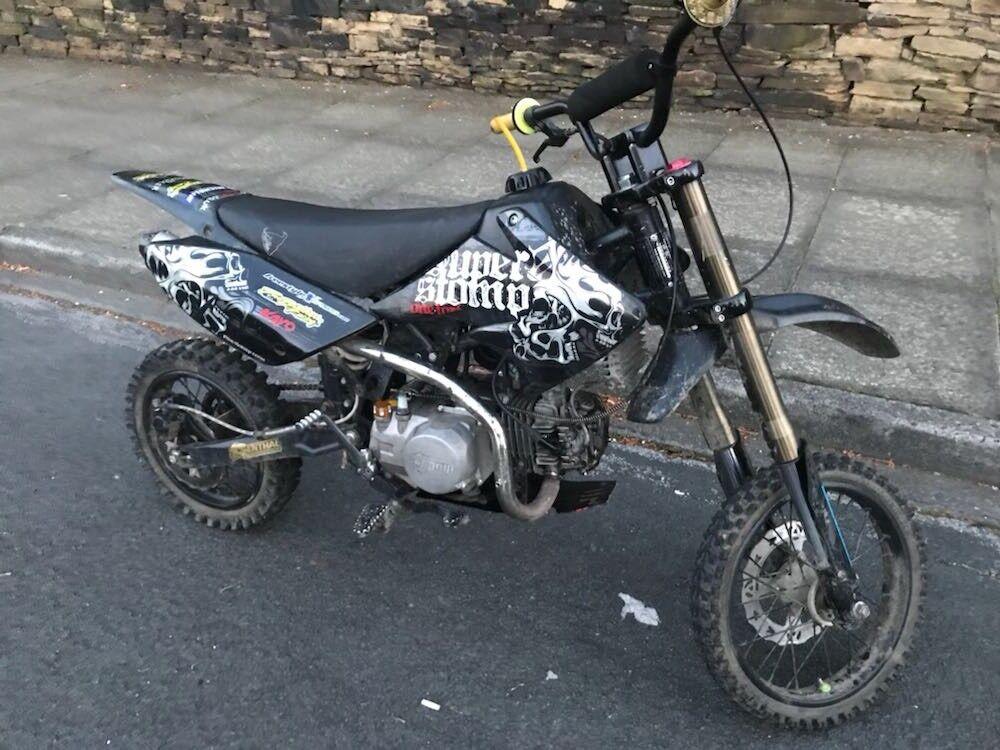 Yx140 superstomp pit bike