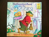 BOOK - The Berenstain Bears and the SITTER