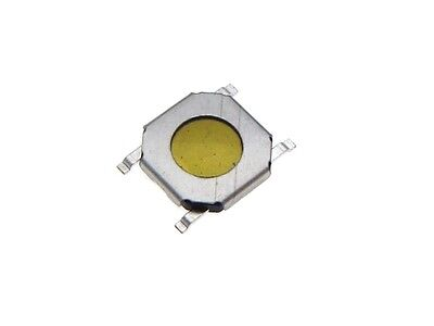 4x4x1mm Smd Tactile Switch Pushbutton - Pack Of 20