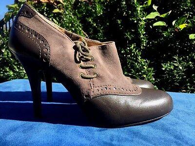 Ca. Joan David Oma Sattel Stiefel Oxfords Sexy - Sexy Sattel Schuhe