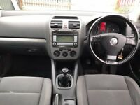 VW GOLF 1.6 FSI MATCH 5 DOOR 12 MONTHS MOT
