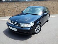 SAAB 9-5 95 SE 2.3 TURBO AUTOMATIC SALOON, FSH, VERY CLEAN THROUGHOUT!!