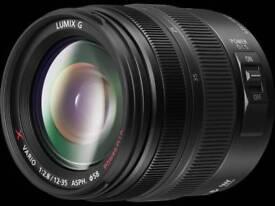 Panasonic gh4 with panasonic 12-35mm lens