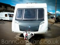(Ref: 835) 2010 Swift Charisma 550 4 Berth Fixed Bed