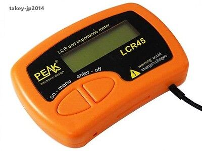 New Peak Lcr45 Lcr And Impedance Meter From Japan Free Shipping