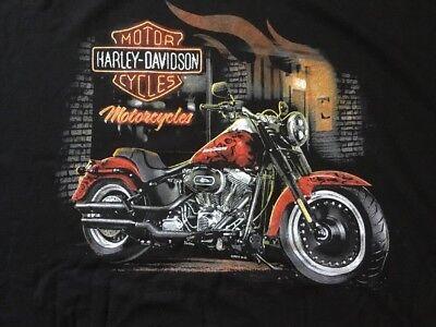 Harley Davidson Road Rebel Black Shirt Nwt Men's 4XL