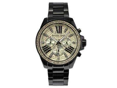 Michael Kors Wren MK5961 Pave Gold-Tone 42mm Dial Chronograph Women Watch