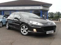 2006 Peugeot 407 HDI SE 130BHP 4 Door Saloon In Black