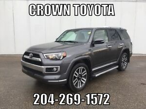TOYOTA CERTIFIED 2016 4RUNNER LIMITED 7 PASS V6 4WD! CLEAN CARP