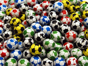 40 CHOCOLATE FOOTBALLS Children's Birthday Party Bag Filler Sweets