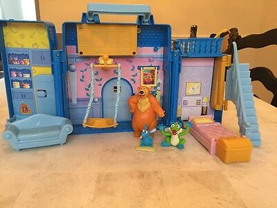 Disney Bear In The Big Blue House Playset Tutter Treelo Figures