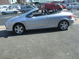 PEUGEOT 307 SE COUPE CABRIOLET HDI (silver) 2006