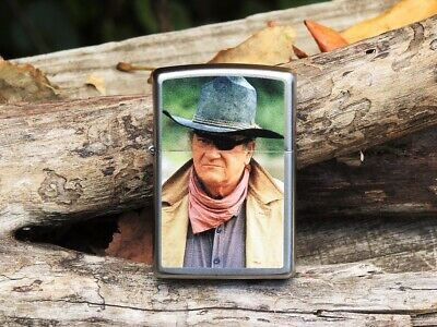 Zippo Lighter - John Wayne Collection - The Duke - Rooster C