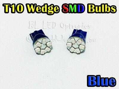 Universal 12V High Power 3020 6-SMD SMT LED T10 Parker Xenon Blue Lights Bulbs