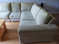 Corner Modular sofa by Collins and Hayes