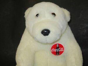 VINTAGE Plush Coca Cola Coke Polar Bear MINT CONDITION Windsor Region Ontario image 3